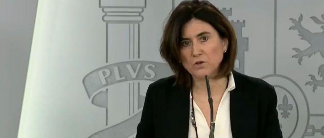 María José Sierra, del Comité Técnico del Coronavirus (Foto. ConSalud.es)
