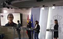 Fernando Simón, interviene desde su cuarentena (Foto. ConSalud.es)