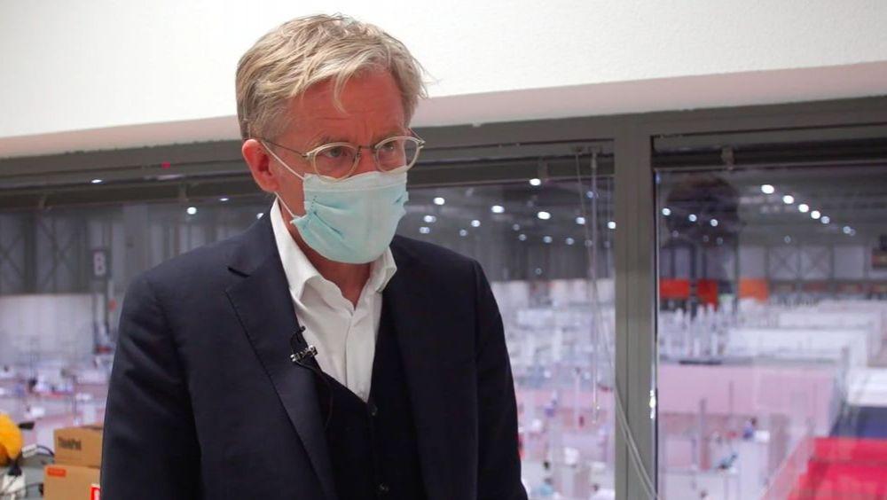 Bruce Aylward, director ejecutivo del Grupo Orgánico de Brotes Epidémicos y Emergencias Sanitarias de la OMS (Foto: Comunidad de Madrid)