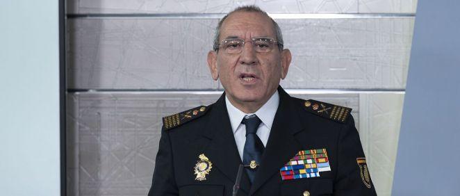 El comisario principal José Ángel González, director adjunto operativo (DAO) del Cuerpo Nacional de Policía (Foto: La Moncloa)