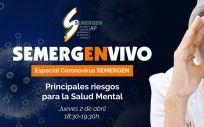 Cartel promocional del SEMERGENVIVO de este jueves (Foto: SEMERGEN)