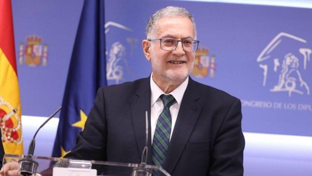Juan Luis Steegmann, portavoz de Sanidad de Vox en el Congreso (Foto: Vox)
