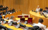 El ministro de Sanidad, Salvador Illa, comparece en la Comisión de Sanidad (Foto. Gobierno de España)