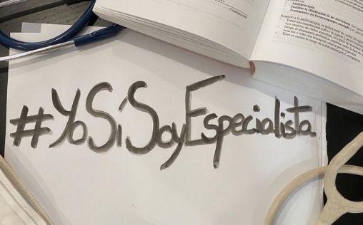 #YoSíSoyEspecialista: los MIR de último año de residencia se movilizan