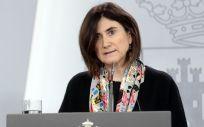 La directora del Centro de Coordinación de Alertas y Emergencias Sanitarias del Ministerio de Sanidad (CCAES), María José Sierra