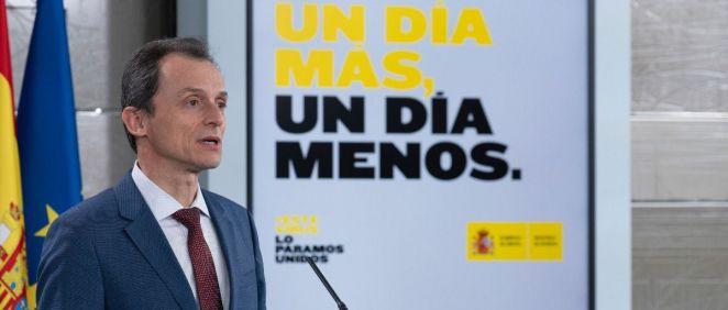 Pedro Duque, ministro de Ciencia e Innovación (Foto: Pool Moncloa / Borja Puig de la Bellacasa)