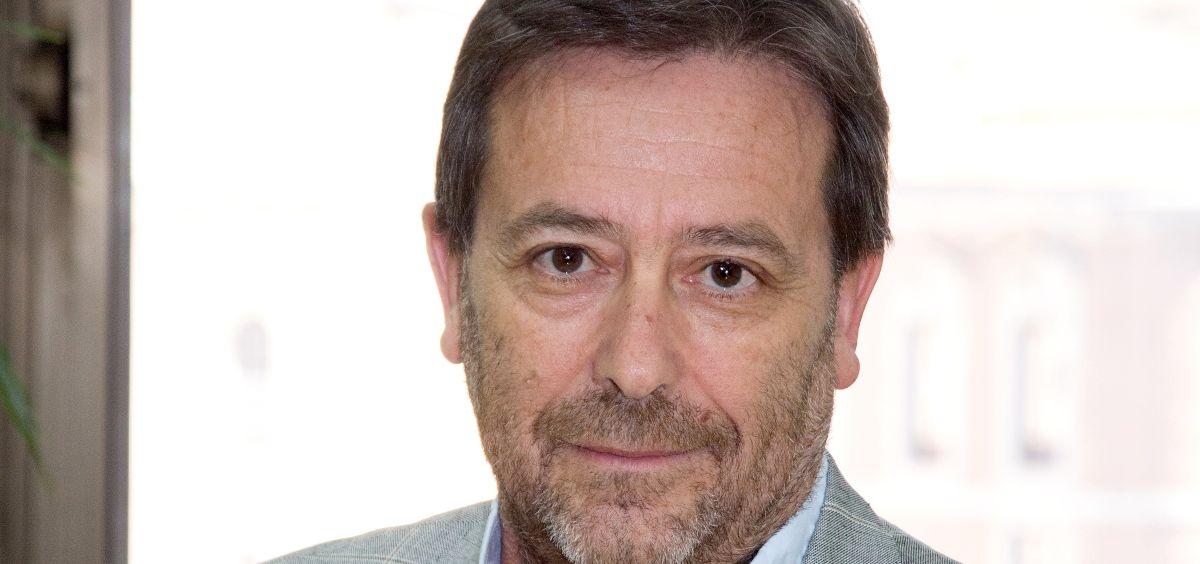 Pedro Rodríguez, miembro de la directiva del Consejo General de Psicología. (Foto. CGP)