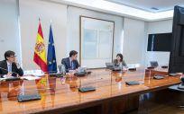 Reunión Comité Técnico y Científico del coronavirus (Foto. La Moncloa)