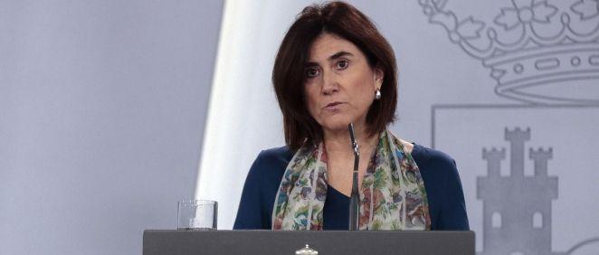 La doctora María José Sierra, portavoz del CCAES, asegura que un 15 % de los españoles estarían inmunizados (Foto. La Moncloa)