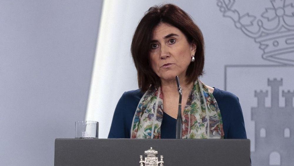 La doctora María José Sierra, portavoz del CCAES (Foto. La Moncloa)