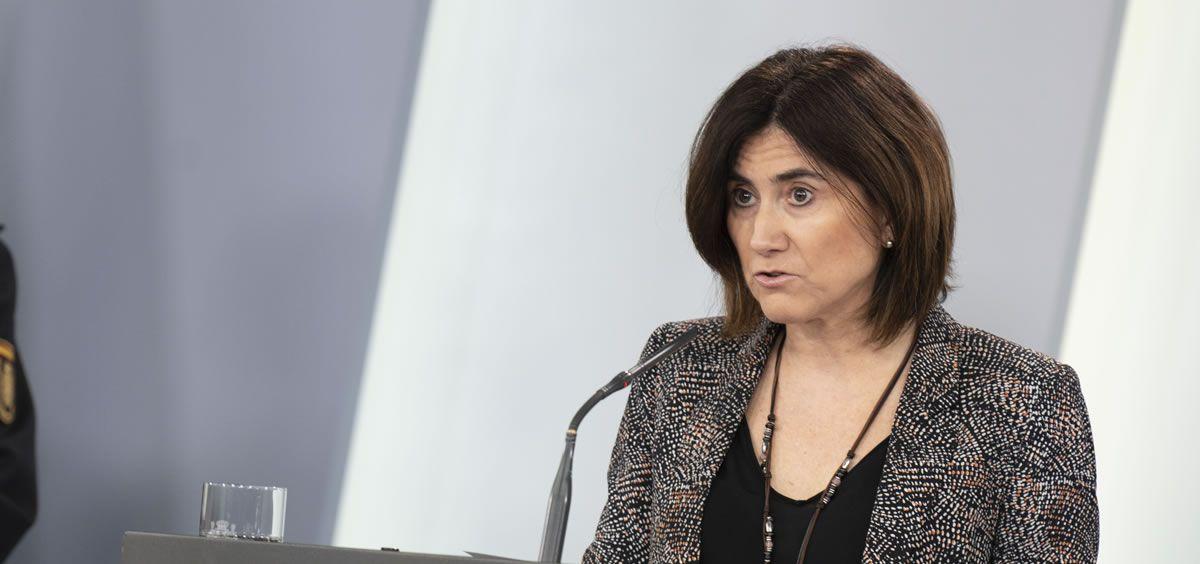 María José Sierra, jefa de Área del Centro de Coordinación de Alertas y Emergencias Sanitarias del Ministerio de Sanidad (Foto. La Moncloa)