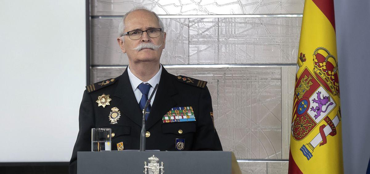 El subdirector general de Logística e Innovación del Cuerpo Nacional de Policía (CNP), José García Molina (Foto: La Moncloa)