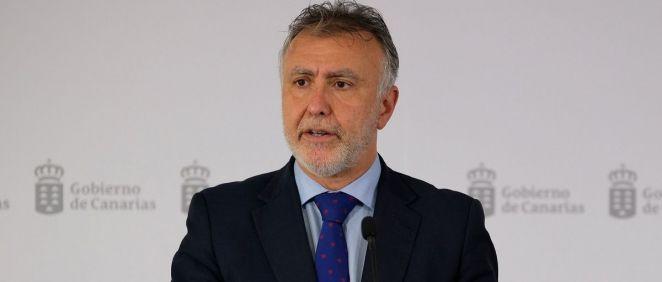 Ángel Víctor Torres, presidente de Canarias (Foto. Gobierno de Canarias)