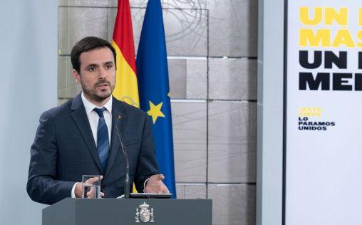 Garzón testa la prohibición de publicidad sobre juego online durante el confinamiento por Covid-19