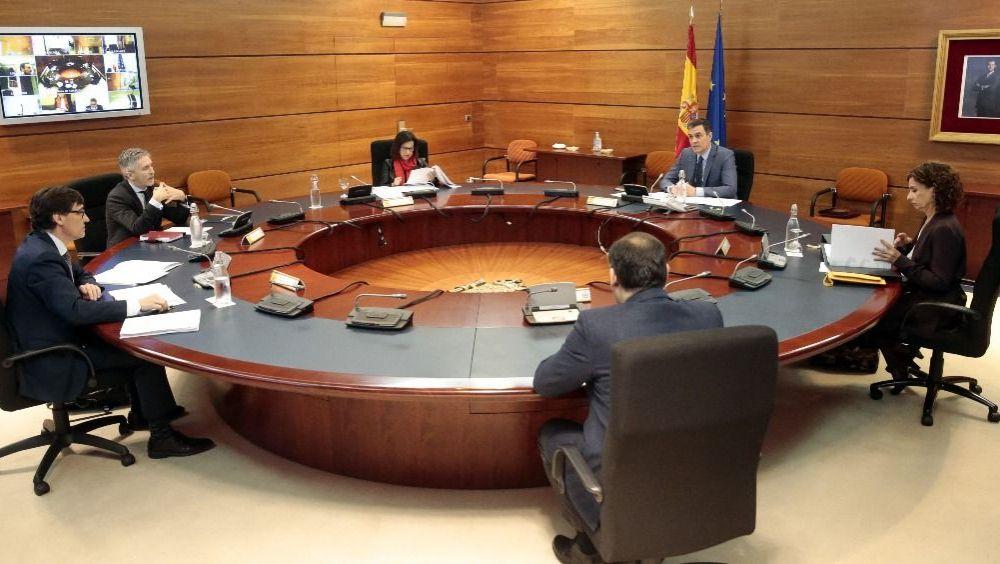 Reunión del Consejo de Ministros Pool MonReunión del Consejo de Ministros (Foto. Pool Moncloa / JM Cuadrados)cloaJM Cuadrados