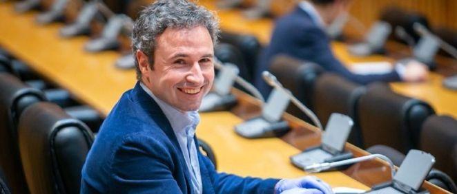 Guillermo Díaz, nuevo portavoz Sanidad de Ciudadanos (Foto. Congreso de los Diputados)