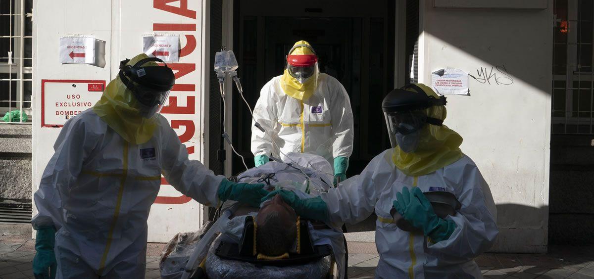 Paciente coronavirus (Foto. Salud Madrid)