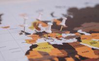 Mapa mundial (Foto. Banco de imágenes)