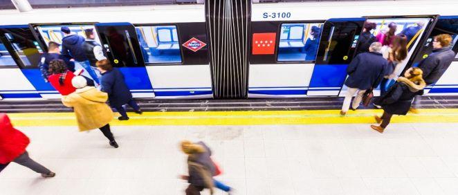 Metro de Madrid. (Foto. Metro)
