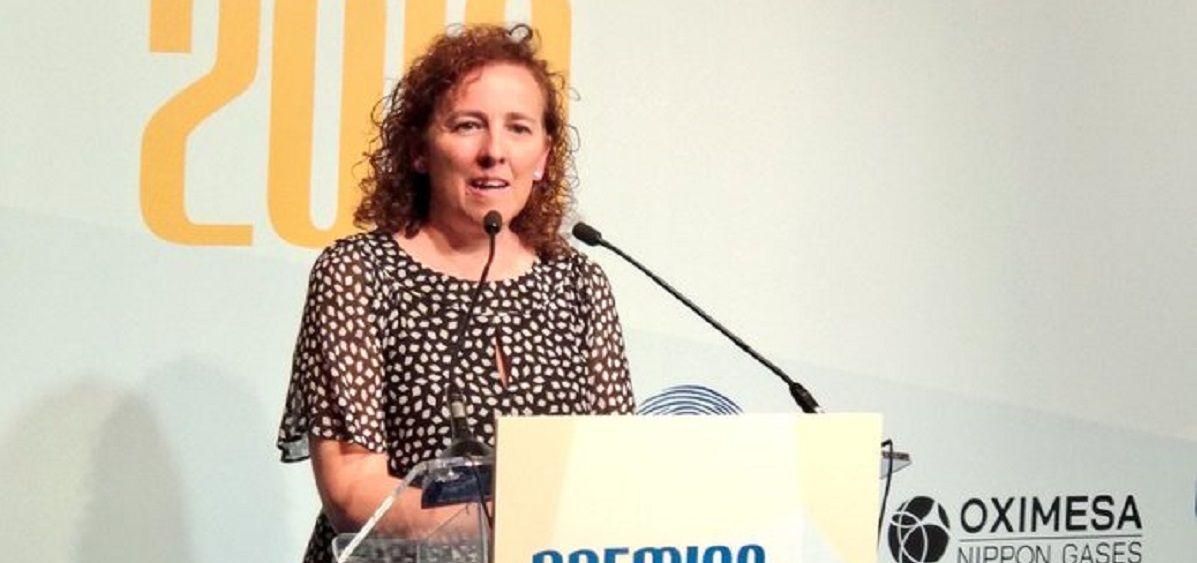 La doctora Mª Jesús Rodríguez Nieto, presidenta de la Sociedad Madrileña de Neumología y Cirugía Torácica (Neumomadrid)