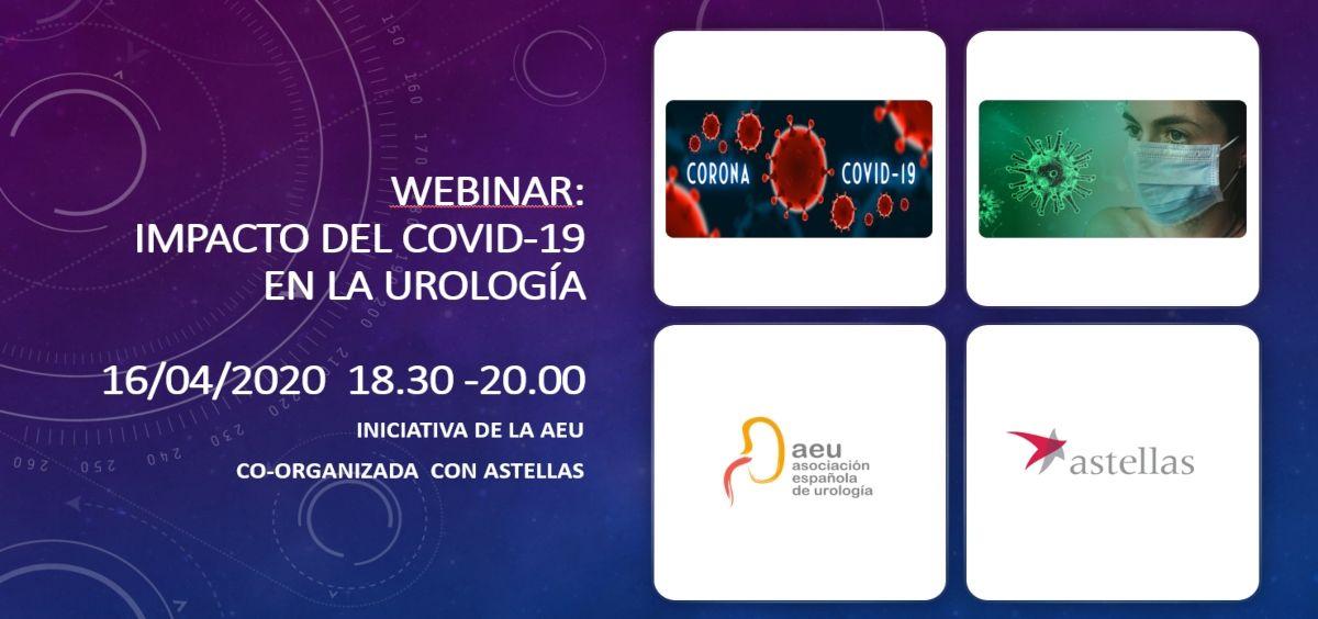 """Webinar """"Impacto del Covid 19 en la Urología"""" (Foto. ConSalud)"""