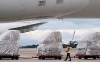 Transporte de material sanitario. (Foto. Comunidad de Madrid)