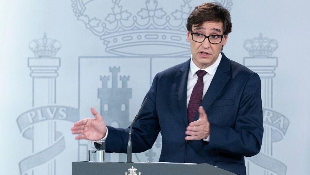 Salvador Illa, ministro de Sanidad (Foto. Pool Moncloa / Borja Puig de la Bellacasa)