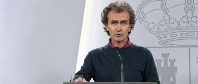 El director del Centro de Coordinación de Alertas y Emergencias Sanitarias del Ministerio de Sanidad, Fernando Simón. (Foto. La Moncloa)