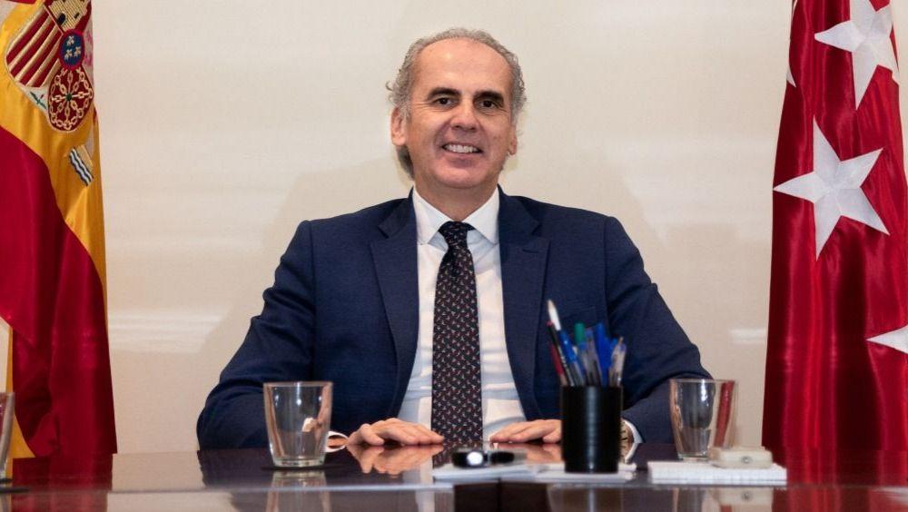Enrique Ruiz Escudero, consejero de Sanidad de la Comunidad de Madrid (Foto: ConSalud.es)
