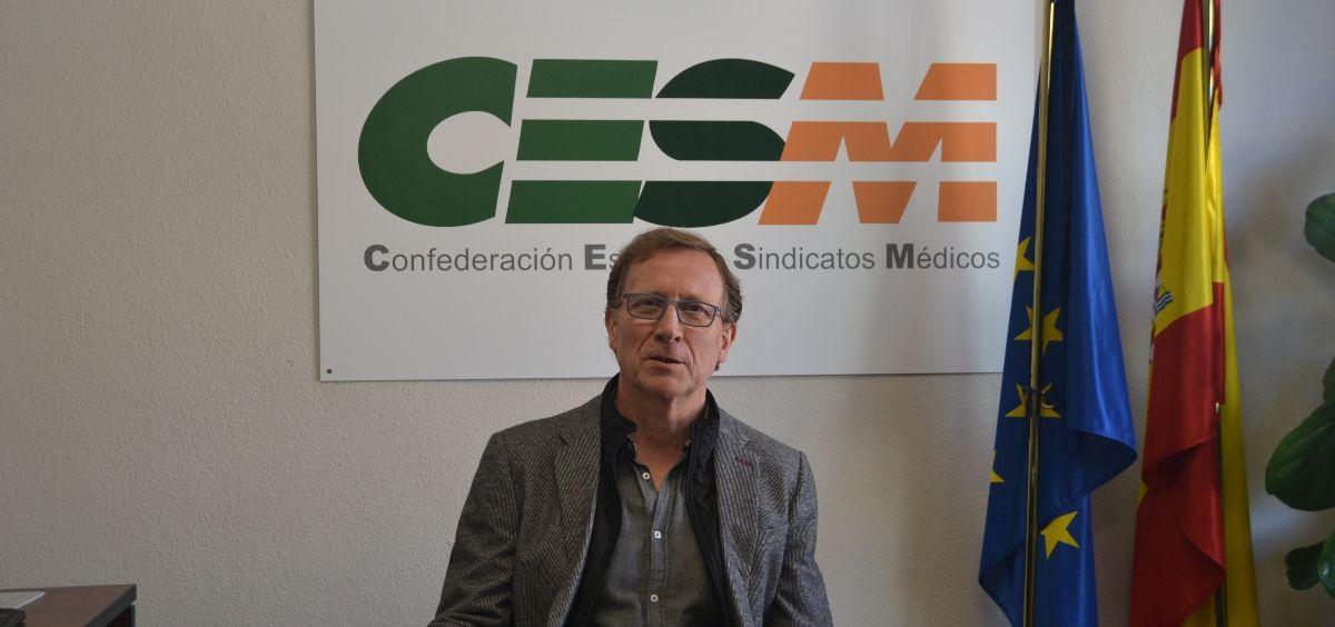 Pedro Antonio Martínez Sánchez, responsable de CESM Prisiones. (Foto. CESM)