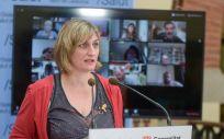 Alba Vergés, consejera de Sanidad de Cataluña. (Foto. Govern)