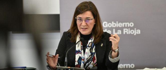 Sara Alba, consejera de Salud de La Rioja (Foto: Gobierno La Rioja)