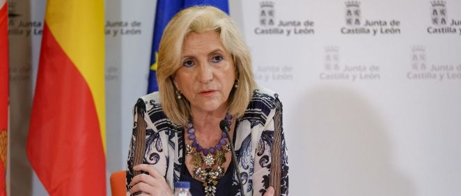 Verónica Casado, consejera de Sanidad de la Junta de Castilla y León (Foto. Comunicación Jcyl)
