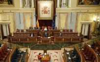 Sesión plenaria del 22 de abril de 2020 (Foto. Congreso de los Diputados)