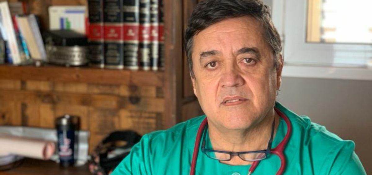 El secretario general del Sindicato Profesional de Sanidad Penitenciaria (SPSP), Juan Carlos Bermúdez Iglesias. (Foto. SPSP)
