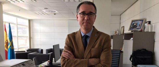 Pablo Fernández, consejero de Salud de Asturias (Foto. Gobierno del Principado de Asturias)