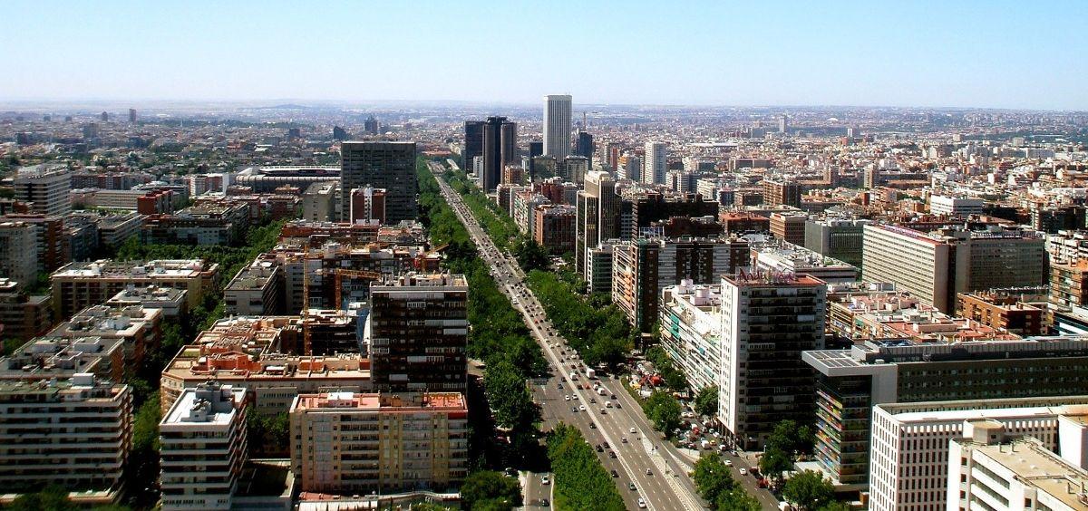 Vista de Madrid. (Foto. Pixabay)