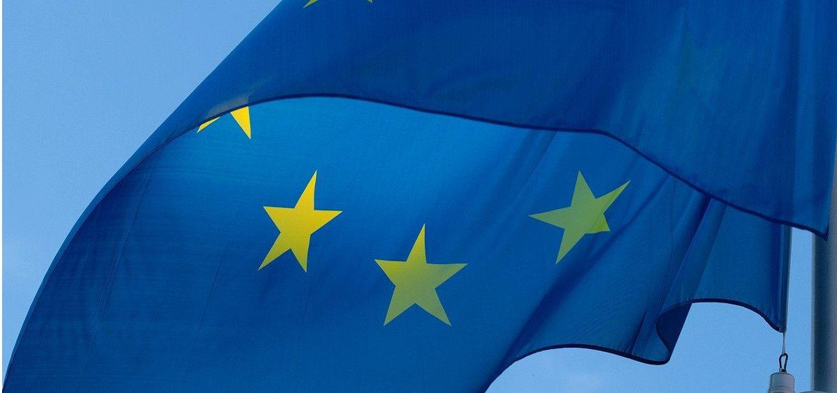 Bandera de la Unión Europea (Foto: Pixabay)