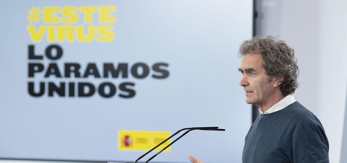 Fernando Simón, director del Centro de Coordinación de Alertas y Emergencias Sanitarias (Foto. La Moncloa)