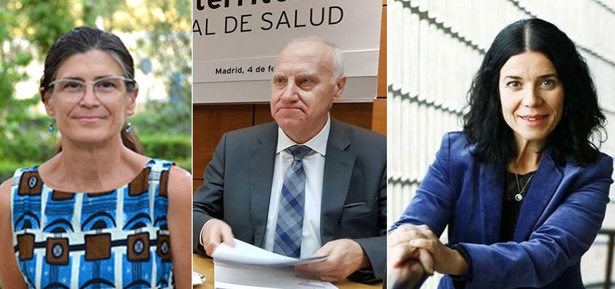 Pilar Aparicio, Faustino Blanco y Patricia Lacruz (Foto. Fotomontaje ConSalud)