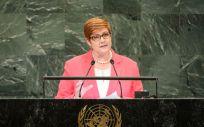 Marise Payne, canciller de Australia (Foto: UNAA)
