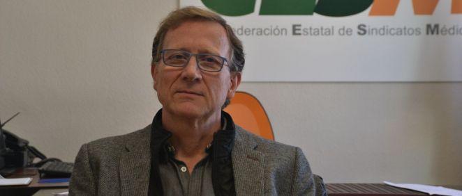Pedro Antonio Martínez Sánchez, responsable de Prisiones de CESM. (Foto. CESM)
