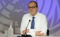 El doctor Hans Henri P. Kluge, director regional para Europa de la Organización Mundial de la Salud (Foto. OMS)
