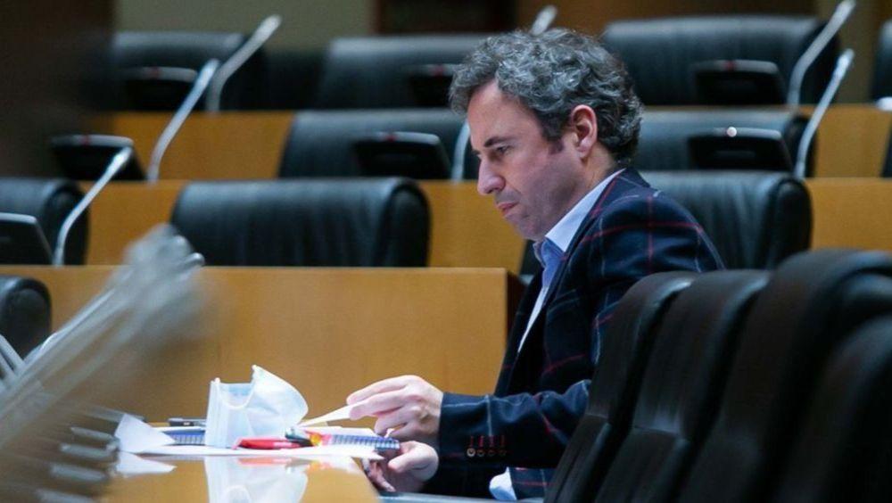 Guillermo Díaz, portavoz de Sanidad de Ciudadanos (Foto: Congreso)