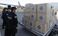 Llegada de material sanitario a Tenerife (Foto: Gobierno de Canarias)