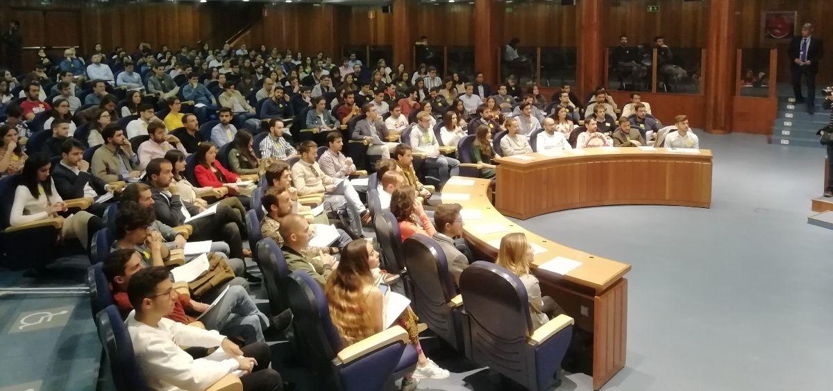 Instantánea de la elección de plazas MIR 2019. (Foto. ConSalud)