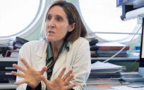 La viróloga Isabel Sola, del laboratorio de coronavirus del CNB CSIC (Foto. CSIC)