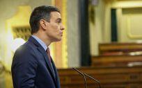 Pedro Sánchez en el Congreso (Foto: Flickr PSOE)