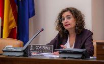 María Jesús Montero, ministra de Hacienda (Foto: Congreso)