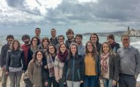 Equipo de investigadores del Ciberobn liderado por Francesc Villarroya (Foto. ConSalud)